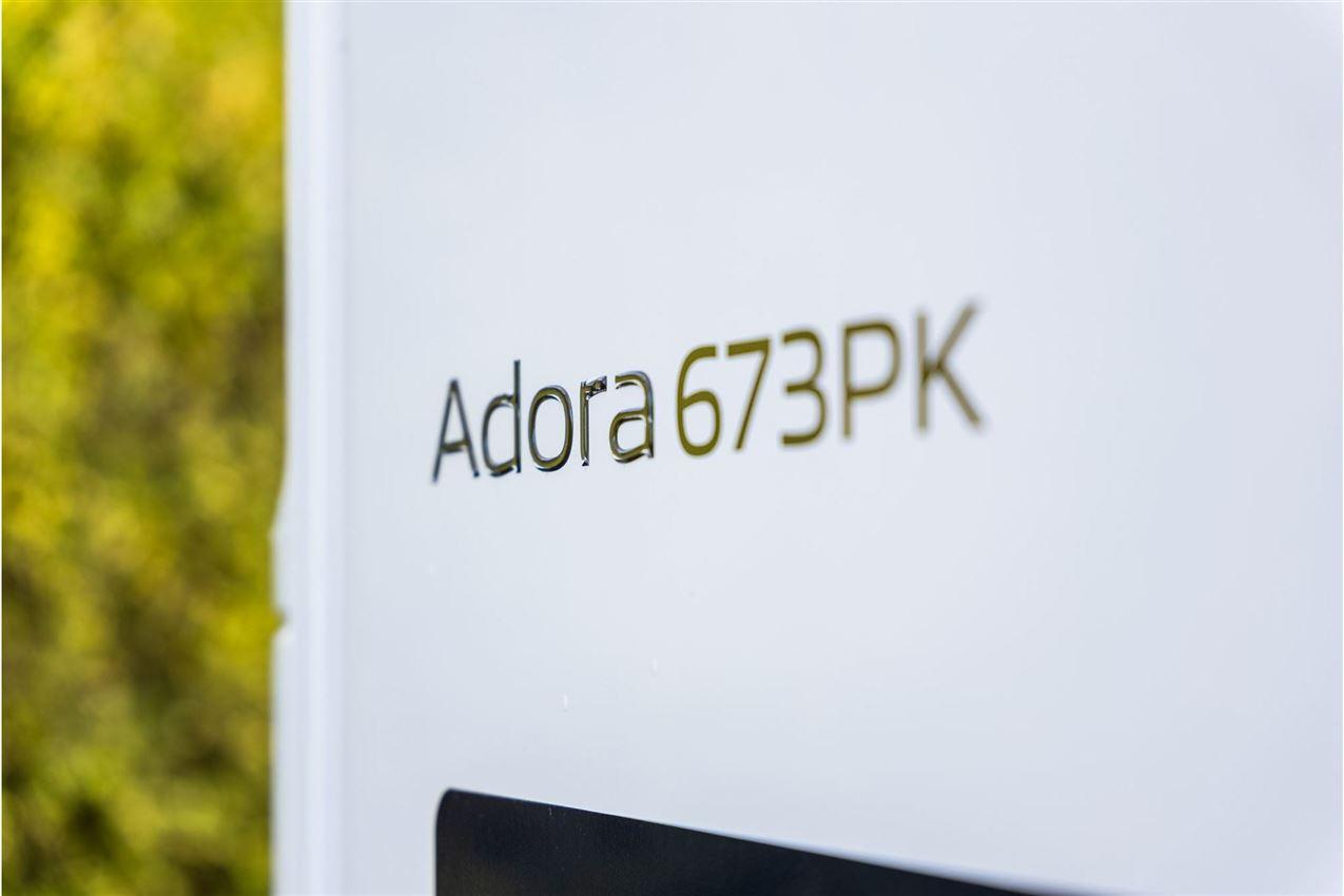 Adria Adora 673 PK Twin axle