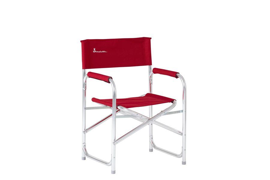 Isabella Instruktørstol med sidebord, Red