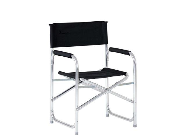 Isabella Instruktørstol med sidebord, Dark Grey
