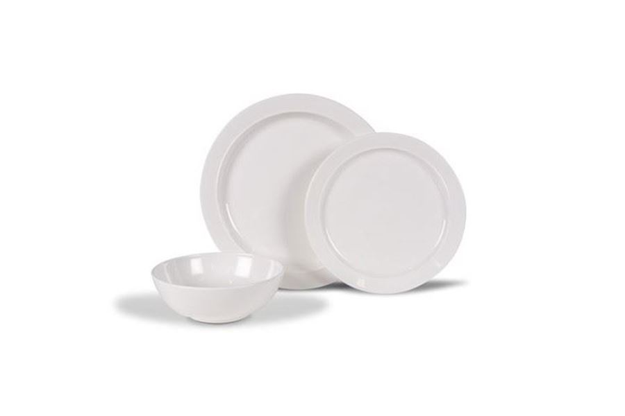Kampa Classic White Plate