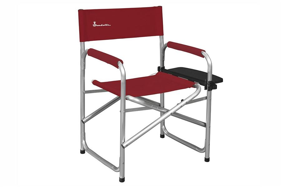 Isabella Instruktørstol med sidebord, Rød