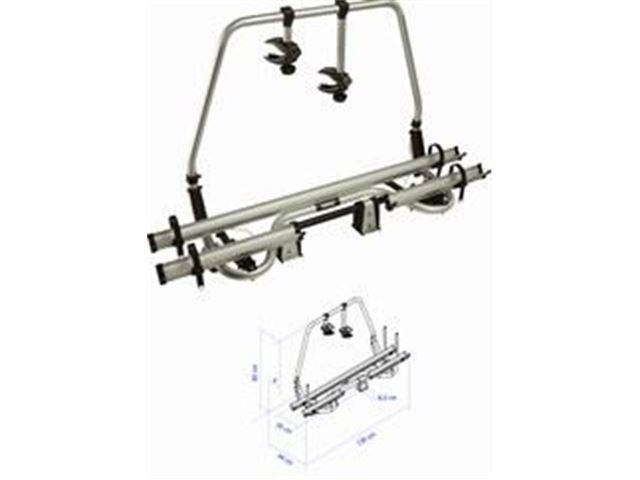 """Cykelstativ Thule """"SuperB"""" - 2 cykler monteret på forende, vipbart, monteret"""