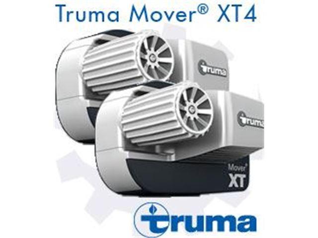 Truma XT4 mover - Boogieaksel op til 3100kg monteret