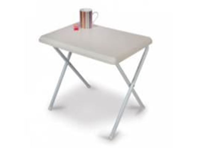 Mini Plastic Table - White