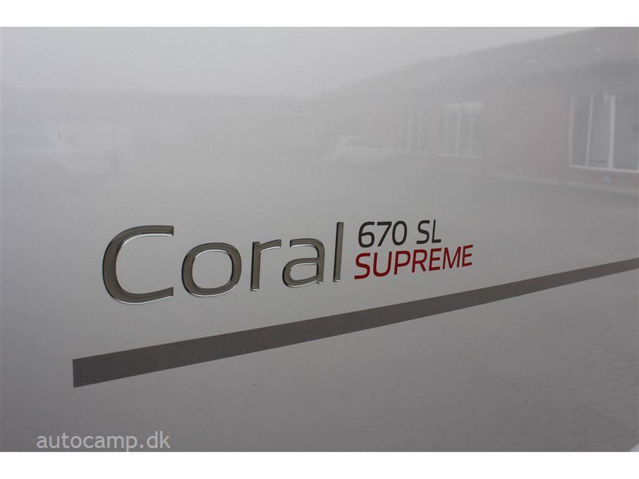 Adria Coral SUPREME S 670 SL