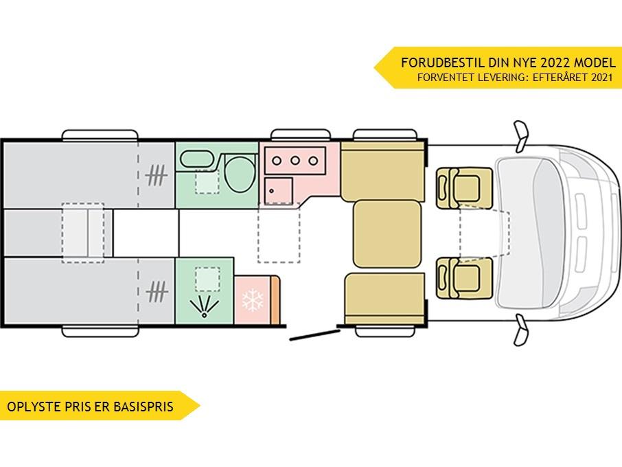 "Adria Coral SUPREME S 670 DL ""Premium"""