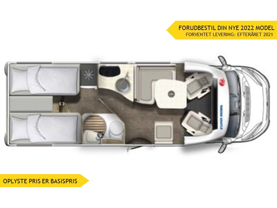 Euramobil Profila T695 EB