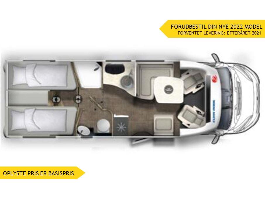 Euramobil Profila T 720 EB Premium