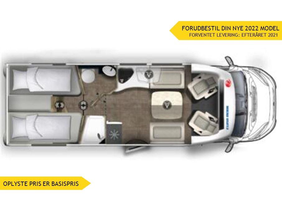 Euramobil Profila T720 EF Premium