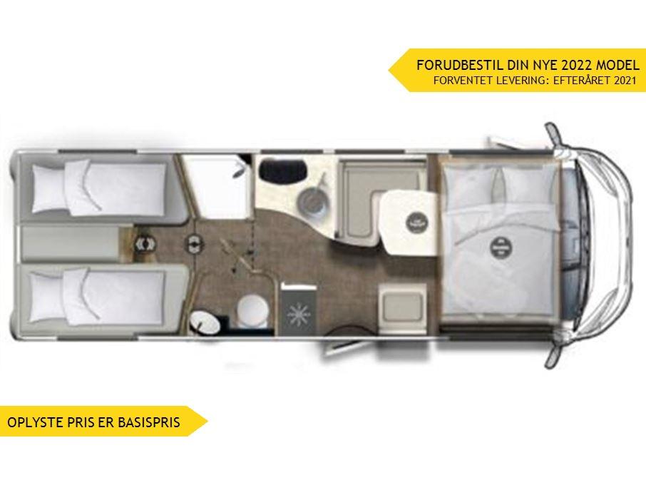 Euramobil Integra Line IL720 EB Premium