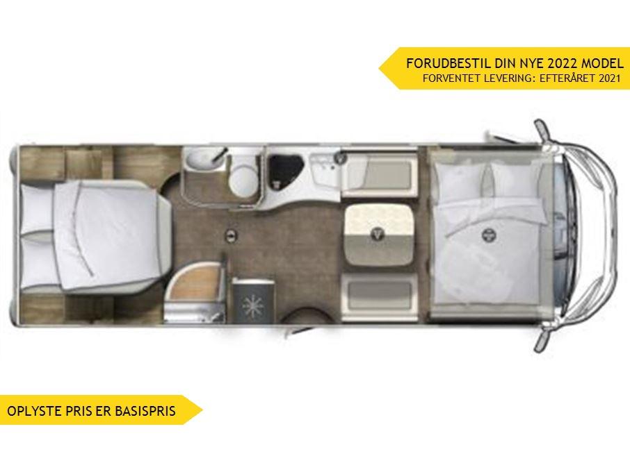 Euramobil Integra Line IL720 QF Premium