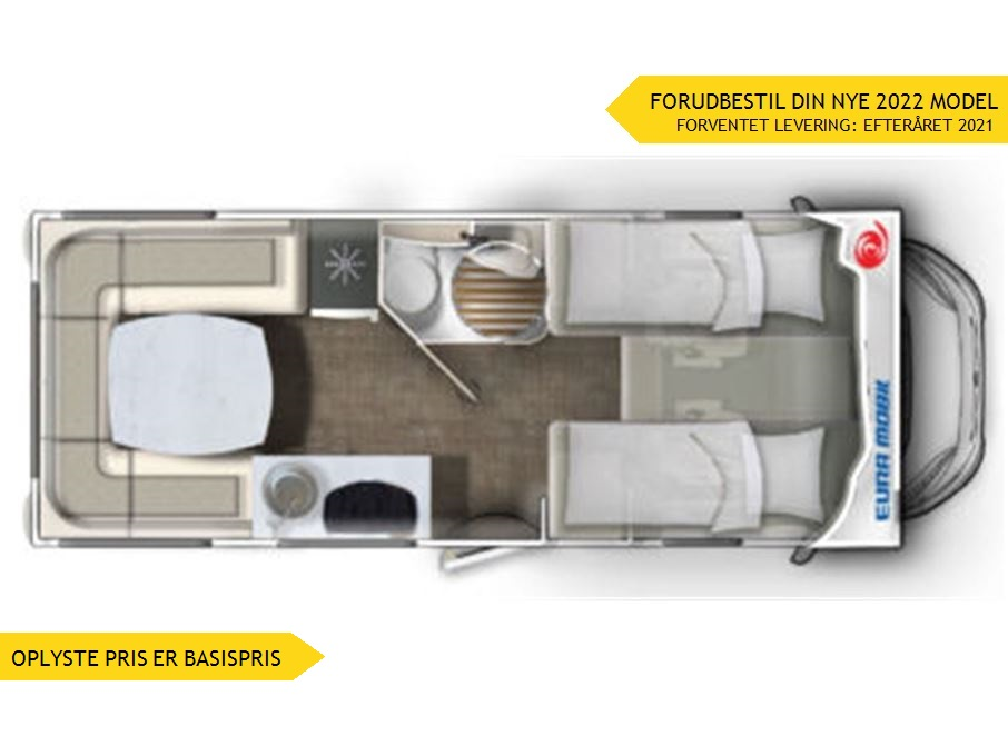 Euramobil Activa One 650 HS