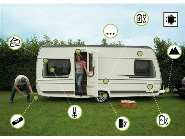 "Grundmodul - Caravansystem ""Smart-Trailer"" m. Vaterpas"