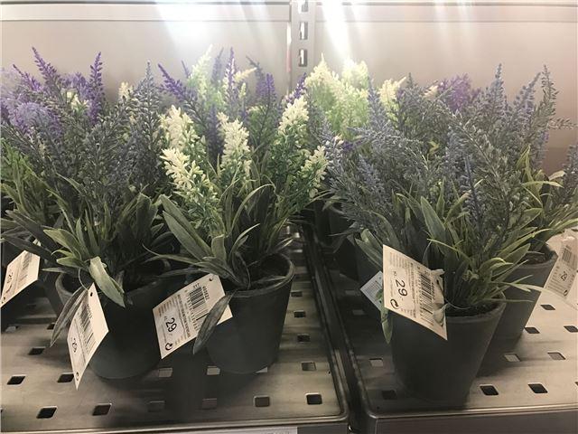 Kunstig blomst lavendel