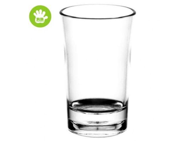 Shots glas 4 cl. i polycarbonat