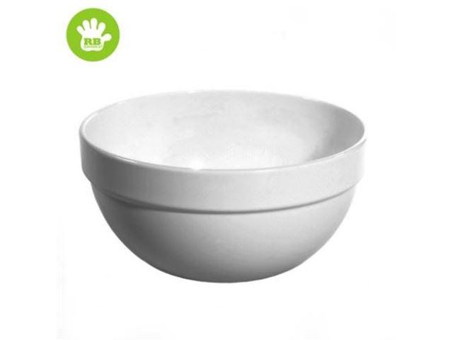 Skål i Hvid polycarbonat 18 cl.