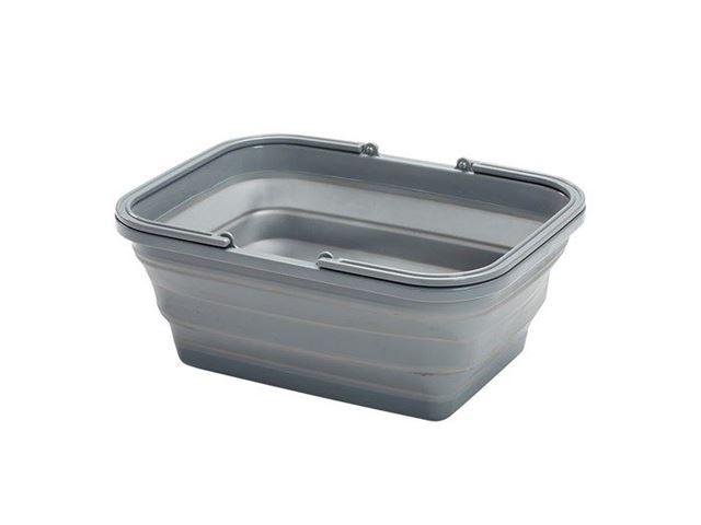 Sammenklappelig opvaskebalje 8 L