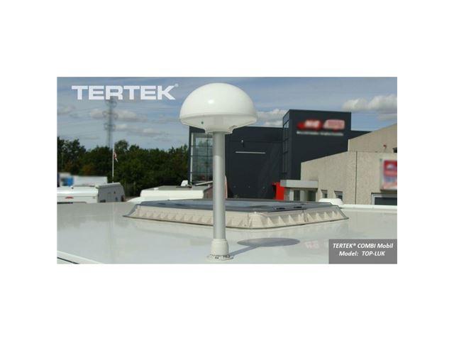 Tertek antenne hvid inkl. mast & montering