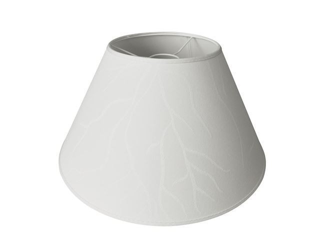 Lampeskærm Cube Creme m/logo (1 stk.)