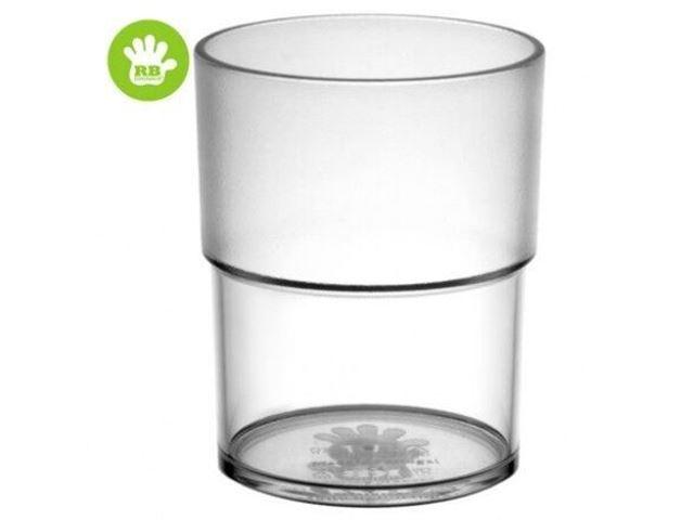 Børne stabel glas Transparent 16 cl.