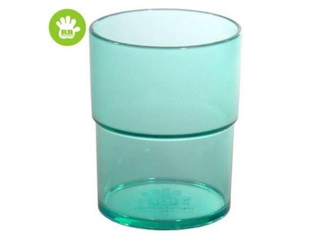 Børne stabel glas Grøn 16 cl.