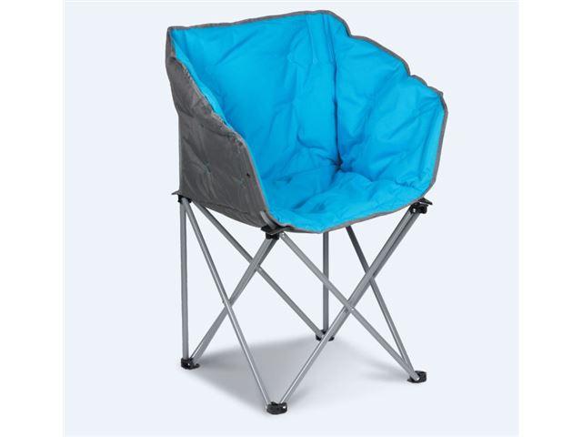 """Tub Chair"" Blå - Foldestol"