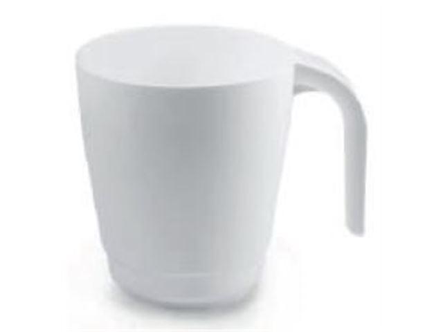 Kaffe, The og Espresso Glas Hvid 30 cl.