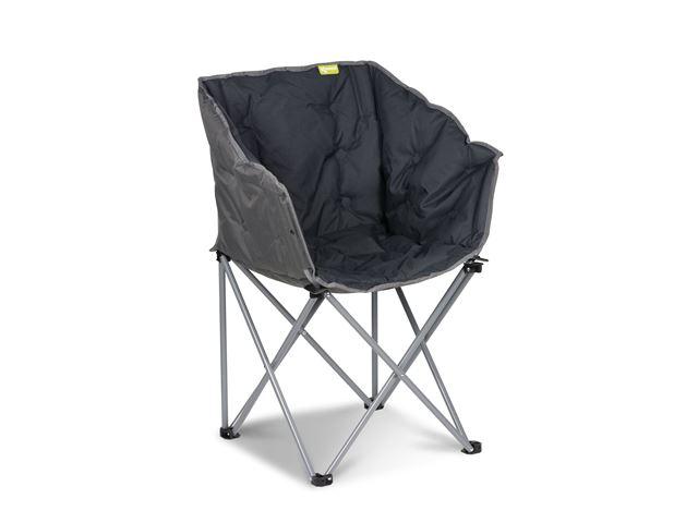 """""""Tub Chair"""" Koksgrå - Foldestol"""