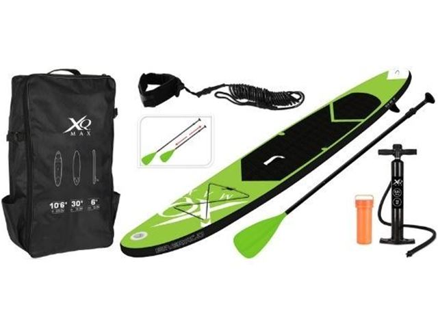 SUP Stand Up Paddle Board Lime Grøn 150 kg.