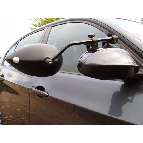 Milenco - Spejlsæt Aero3 - kort m plant glas