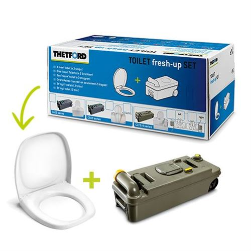 "Toiletkit ""Thetford Fresh Up"" til C2/3/4 - venstre"