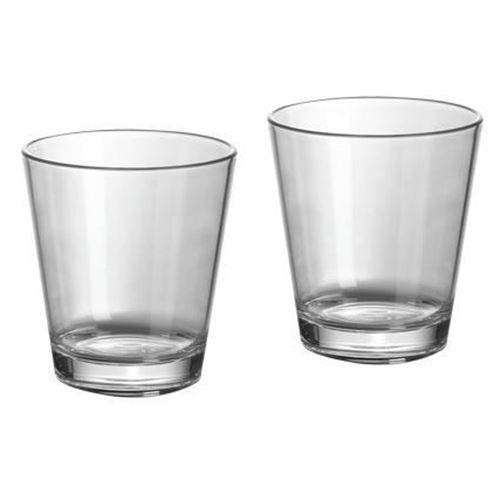 Gimex vandglas 30 cl - 2 stk