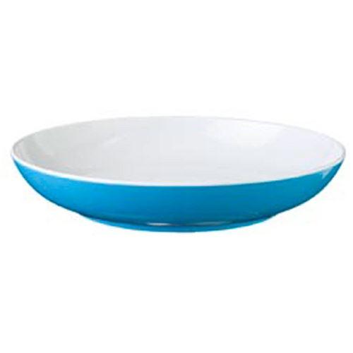 BRUNNER BLÅ SPECTRUM Dyb tallerken, aquablå