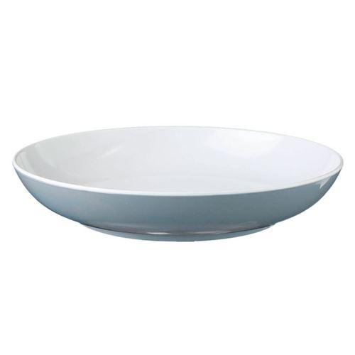 BRUNNER BLÅ SPECTRUM Dyb tallerken, grå