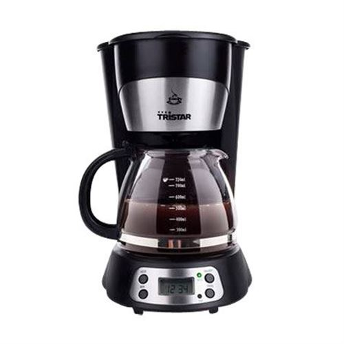Tristar lille kaffemaskine 0,75 liter m. timer - 70 W