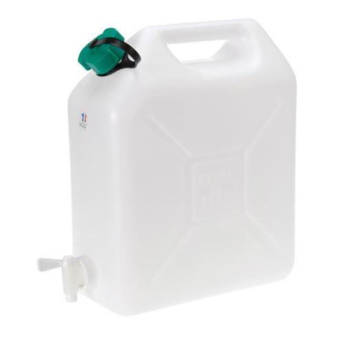 Vanddunk med tappehane 20 liter