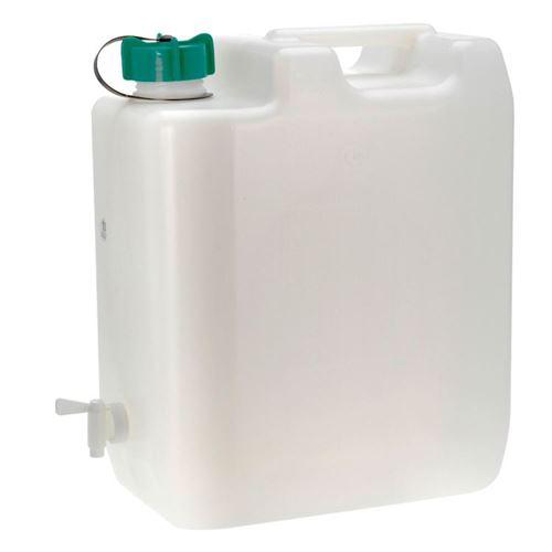 Vanddunk med tappehane 35 liter