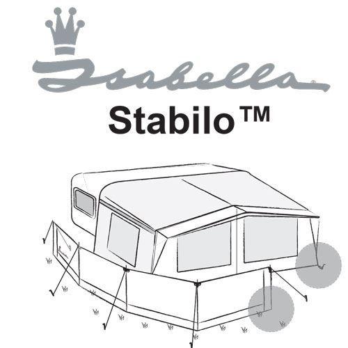 Isabella Stabilo - til blødt underlag 3 stk