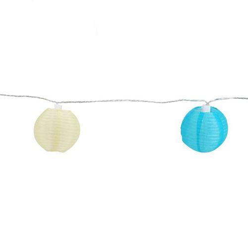 Party led lyskæde - 20 små rislamper - farvede