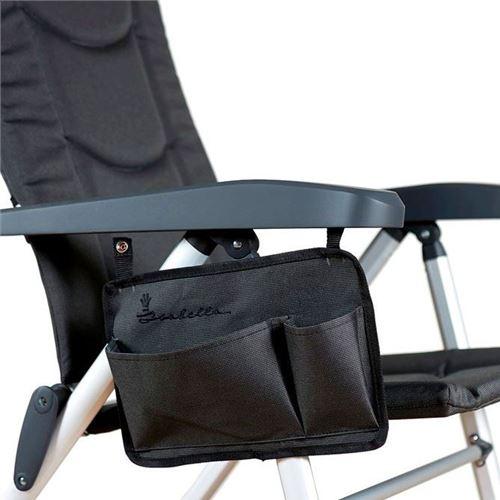 Sidelomme til Isabella stol - Dark Grey