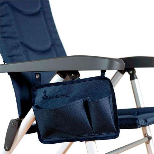 Sidelomme til Isabella stol - Dark Blue