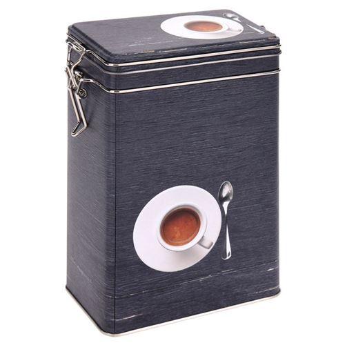 Kaffedåse i metal 12x8x19 cm