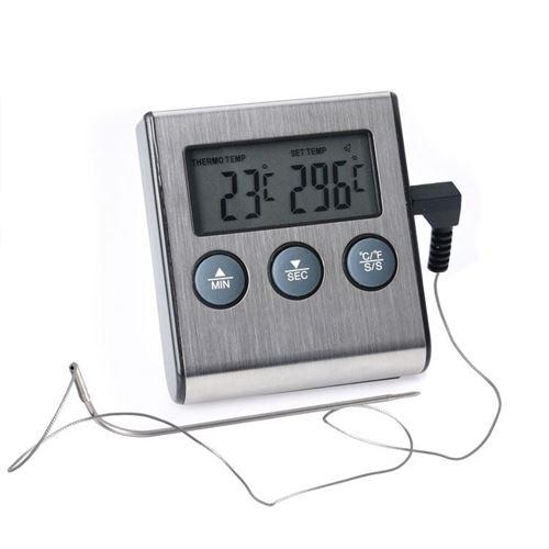 EH digitalt stegetermometer/minut-ur