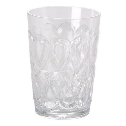 RICE Vandglas i klar acryl