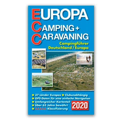 ECC Campingguide 2020 Europa (tysk udgave)