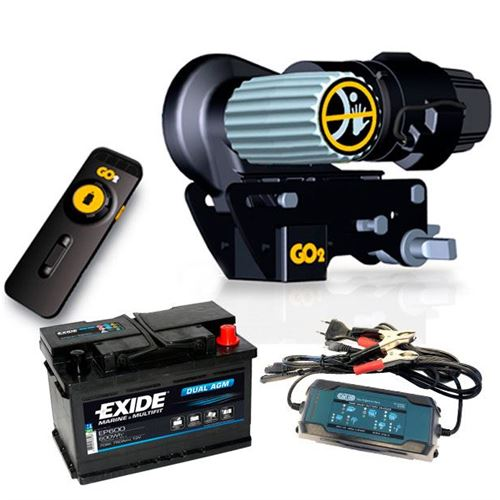 Mover GO2 + batteri og lader - Nyhed