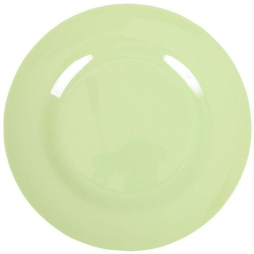 RICE Middagstallerken mintgrøn Ø 25