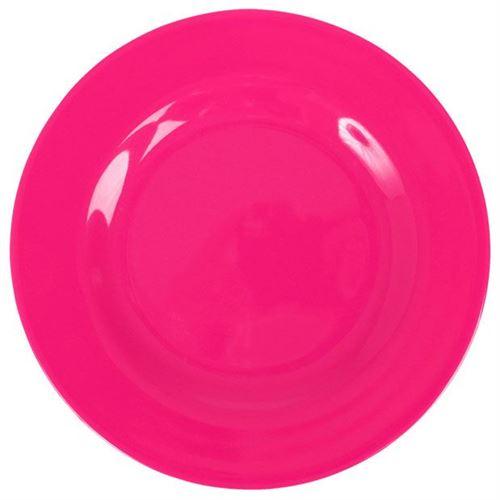RICE Middagstallerken Pink Ø 25