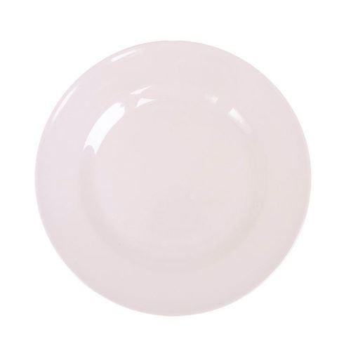 RICE Desserttallerken hvid Ø20
