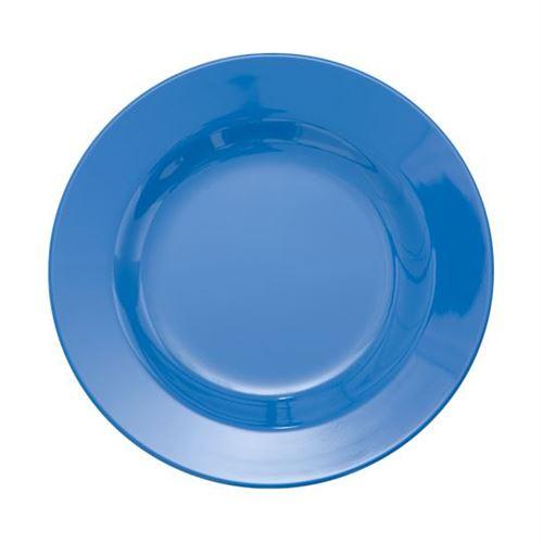 RICE Desserttallerken Dusty blue Ø20